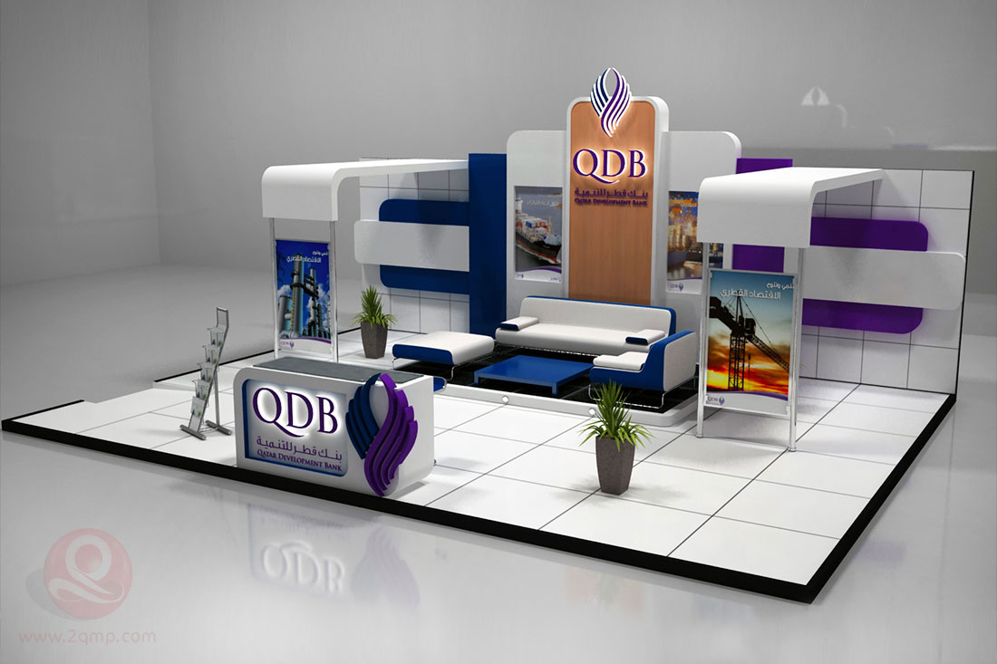 Exhibition Stand Production : Exhibition stands qatarya media production